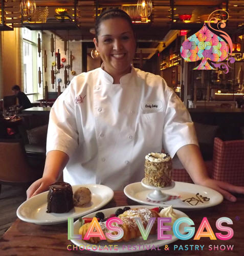 executive pastry chef cindy soliz at the las vegas